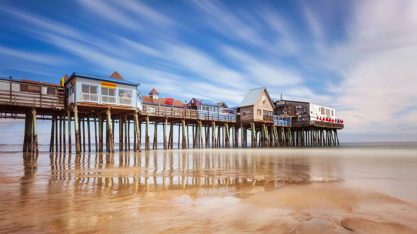Pier at Old Orchard Beach, Maine (© Michael Orso/Tandem Stock) 173