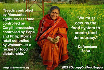 Occupy our food supply.