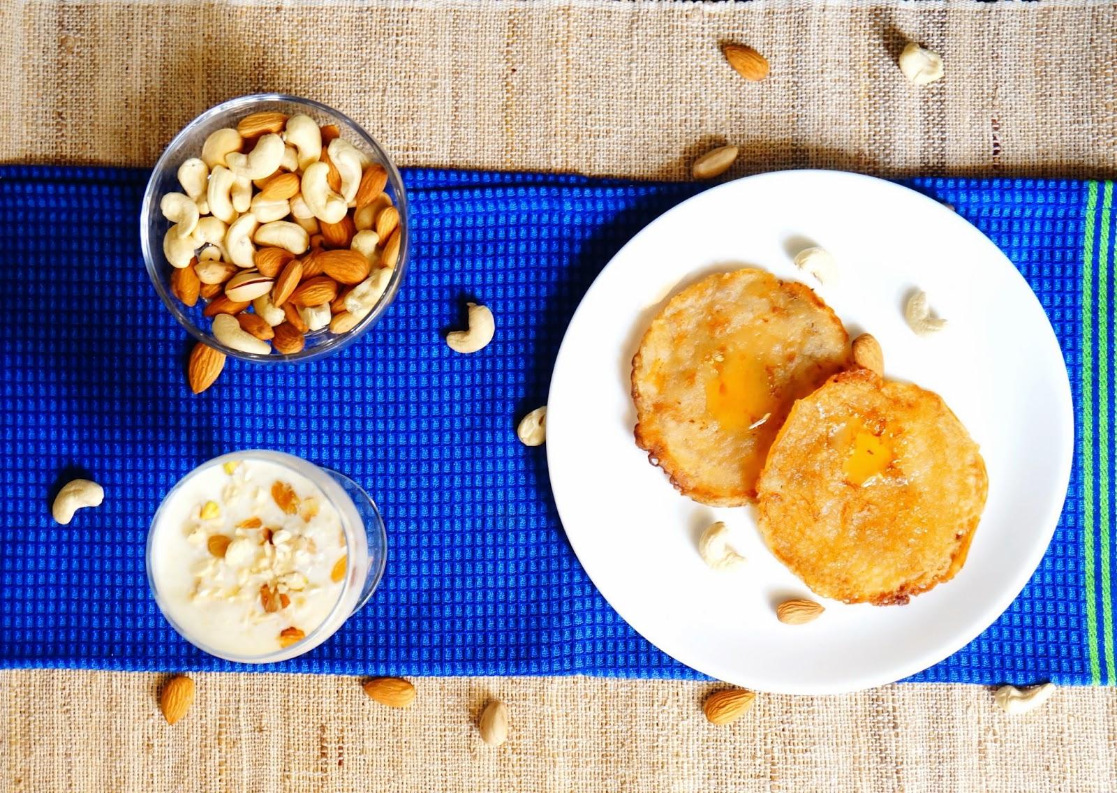 Malpua,pancake,Indian Sweet,eggless dessert,dessert,vegan