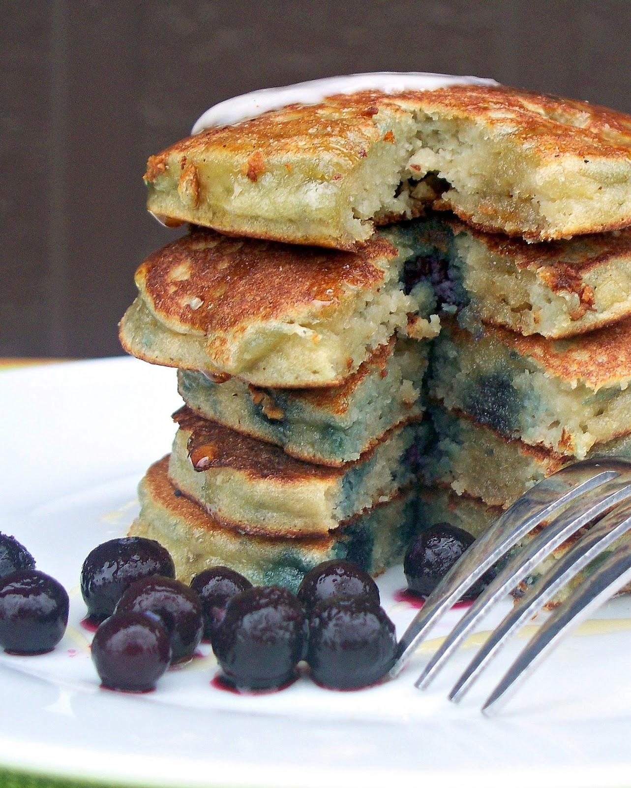 how to make gluten free pancakes with almond flour