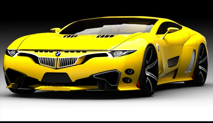 Bmw X9 Concept Car Fast Speedy Cars