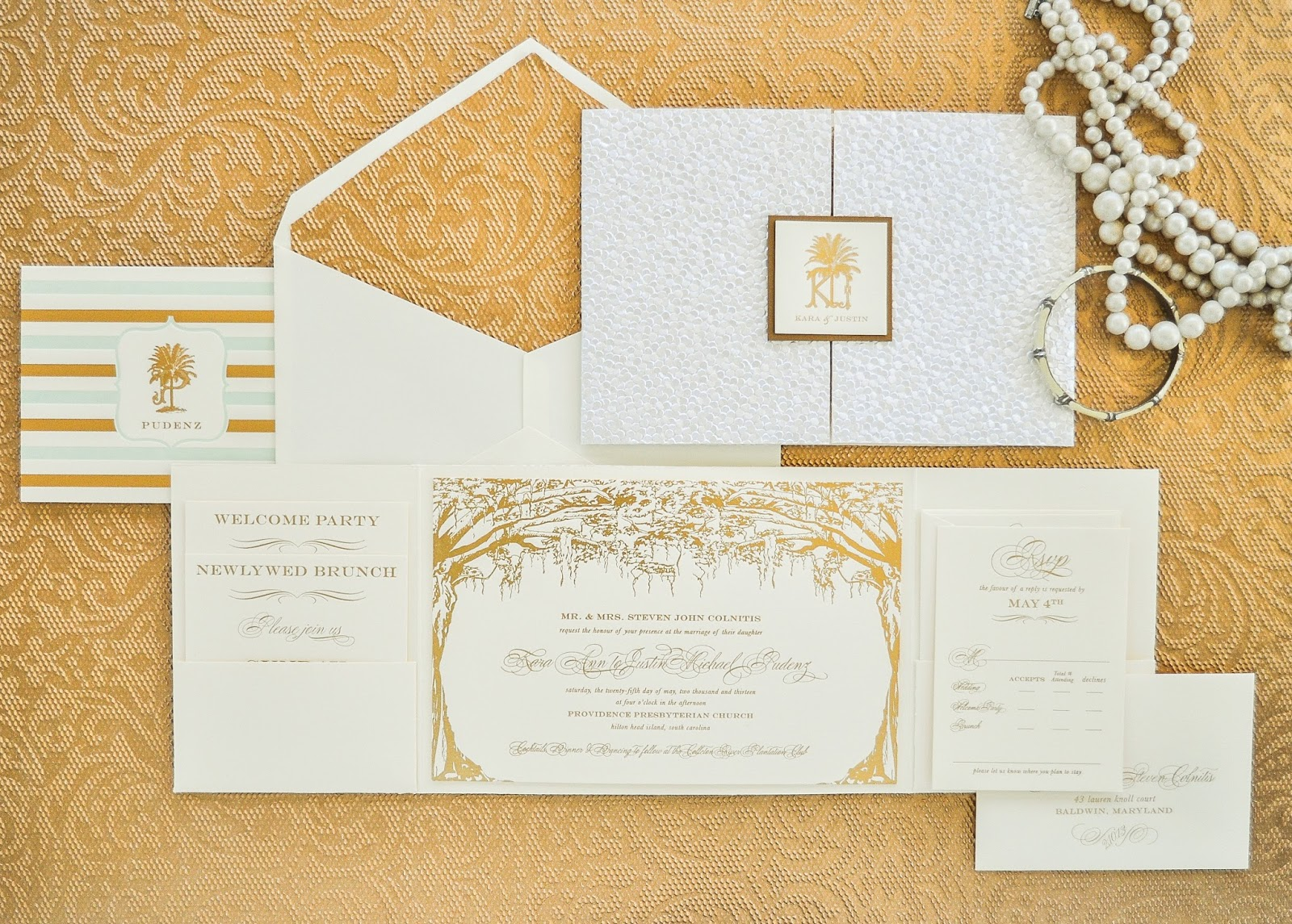 Stationery Suite for a wedding