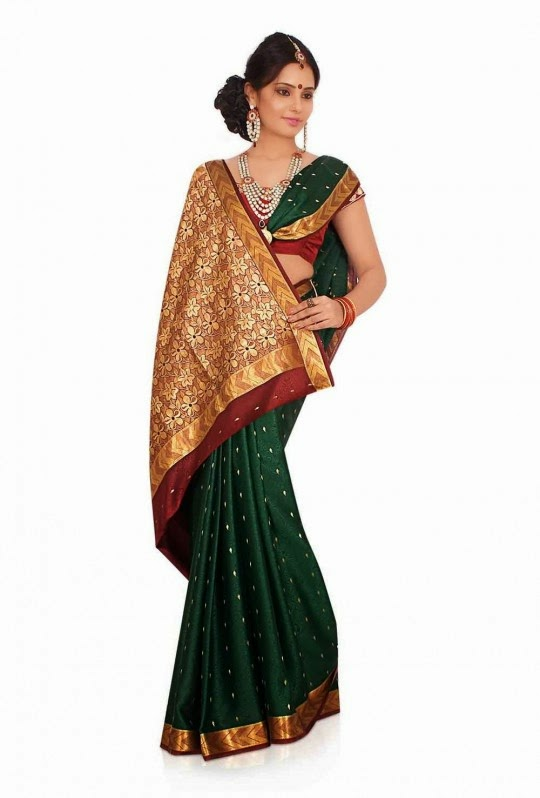 Silk Saree Models