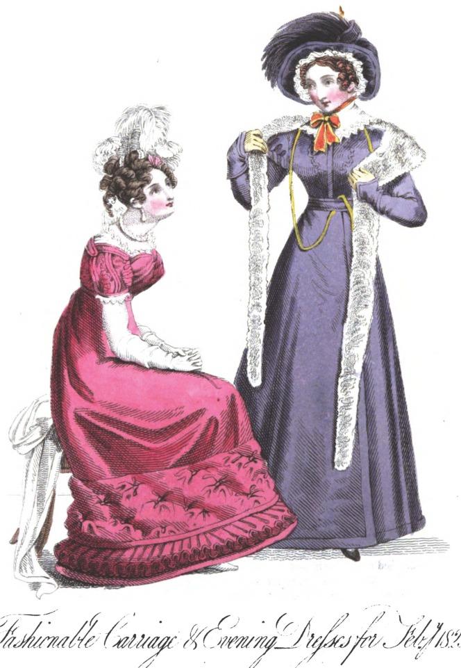 Romantic Era Clothing: Romantic Era Fashion Plate ...