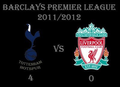 Tottenham Hotspur v Liverpool Barclays Premier Result