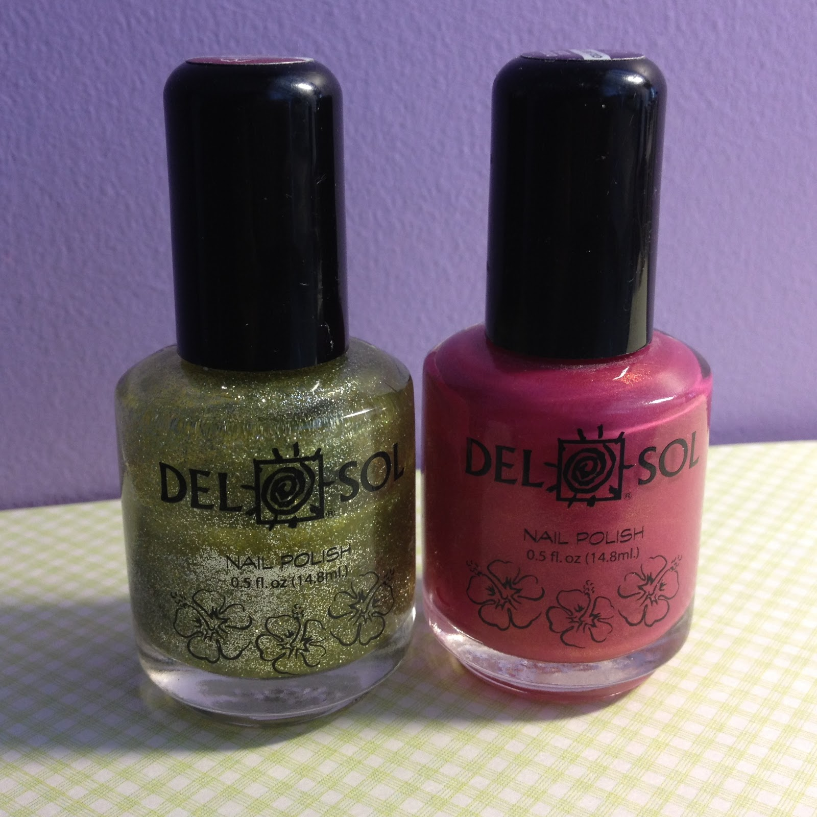 ☆Nail Art Couture☆ !: Del Sol Color Changing Polish
