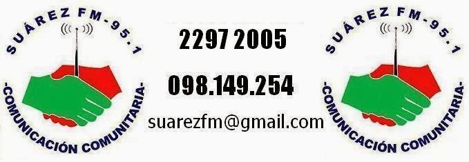 Suárez FM 95.1 - Radio Comunitaria de Joaquín Suárez, Canelones, URUGUAY