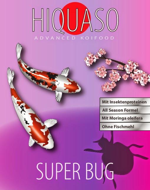 Hiquaso Koifutter - Super Bug - Insekten
