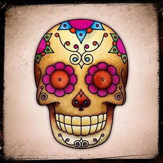 dicas e fotos de Tatuagem de Caveira Mexicana