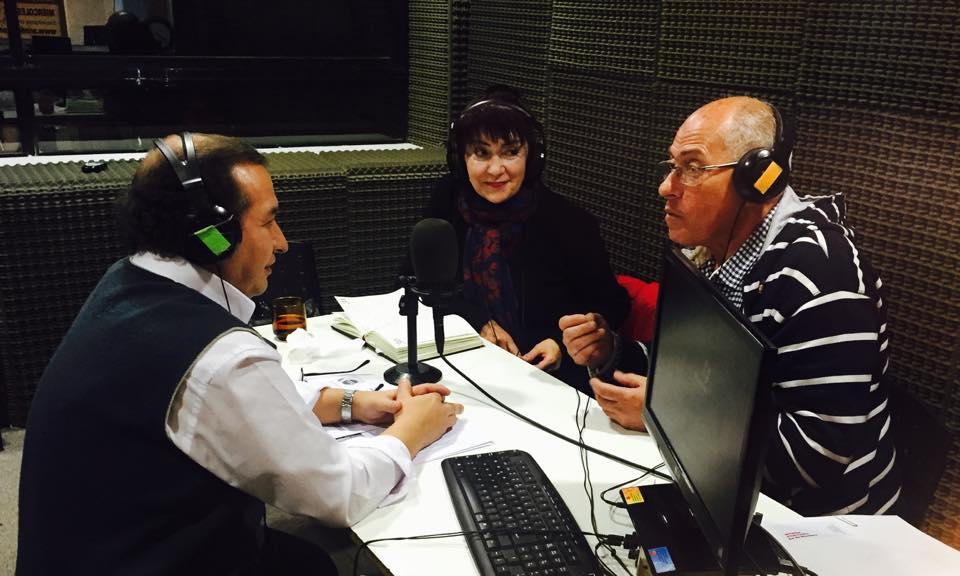 Con Susana Nicolini y Gustavo Fattori