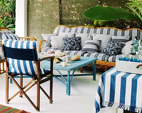 outdoor beach living room
