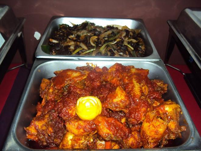 Ayam Masak Merah&Daging Masak Kung Pao