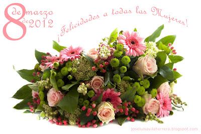 Arreglos Florales Día de la Mujer (8 de Marzo de 2012)