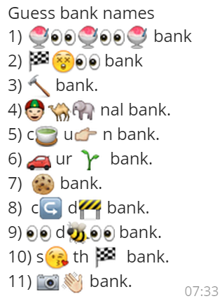 bank names Bank name generator 1000's of names are available, you're bound to find one you like.