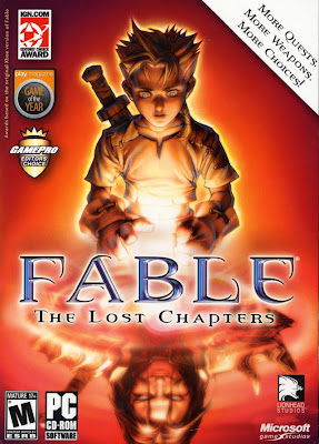 Fable: The Lost Chapters PC Cover