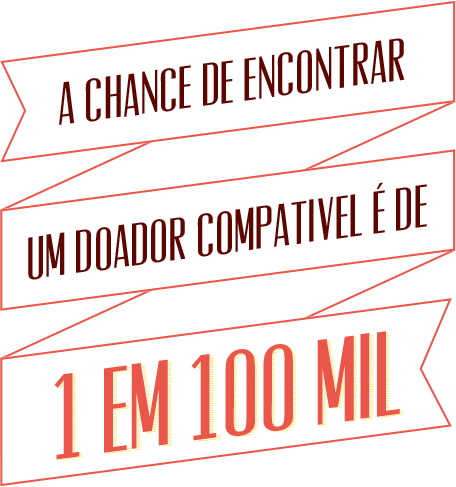 CAMPANHA DOAÇÃO DE MEDULA OSSEA