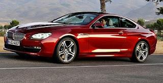 BMW 650i sports car