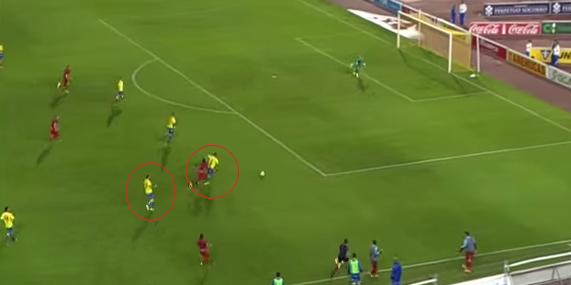 Jugada gol de Cedrick2