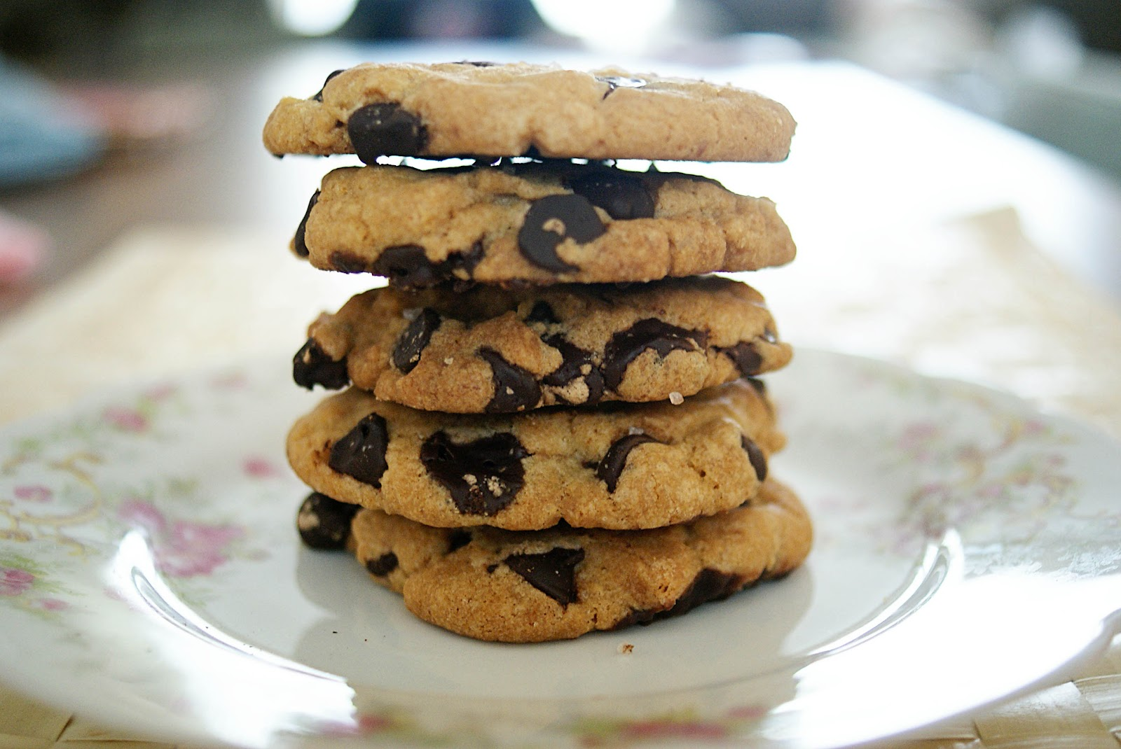 Piccante Dolce: Brown Butter Chocolate Chip Cookies with Sea Salt