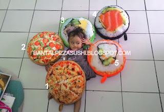 grosir bantal pizza