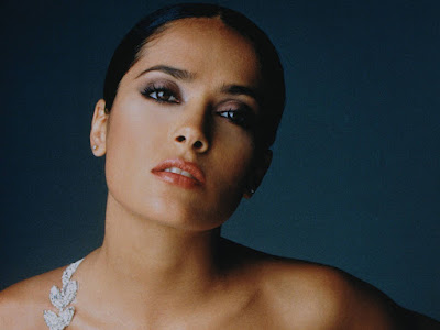 Mexican Beauty Salma Hayek Wallpaper