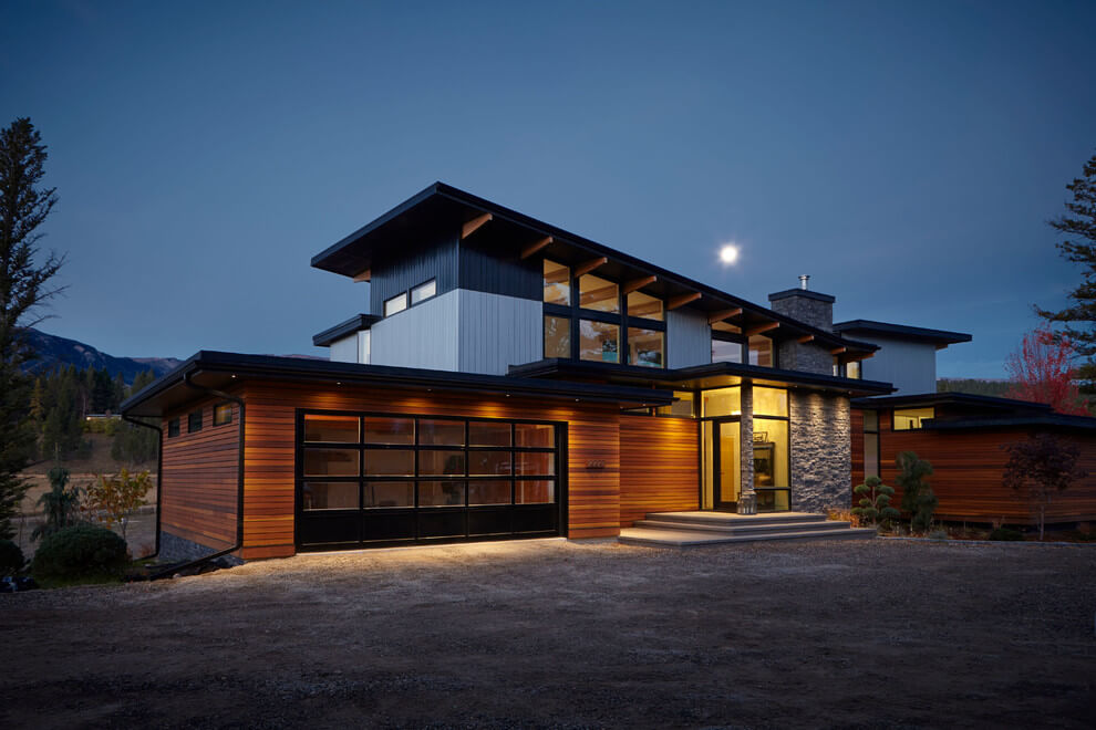 50 fotos de fachadas de casas modernas peque as bonitas for Cost to build a house in arizona