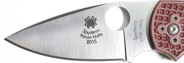 Spyderco 2015 Forum Native - Blade 1