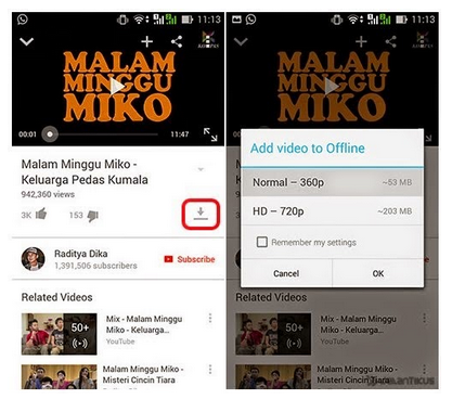Cara Melihat Video Youtube Tanpa Internet
