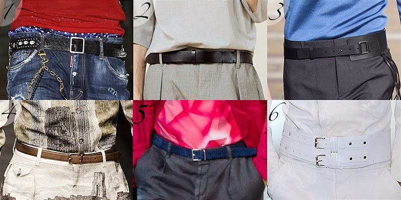 Spring Summer 2014 Men Belt Fashion Trend