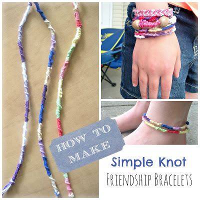 How to make a simple knot friendship bracelet