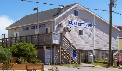 Sand fleas are here for Surf city pier fishing report