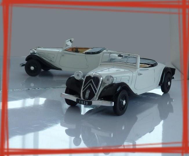 Garage de poche jip citro n traction roadster for Garage citroen la fleche