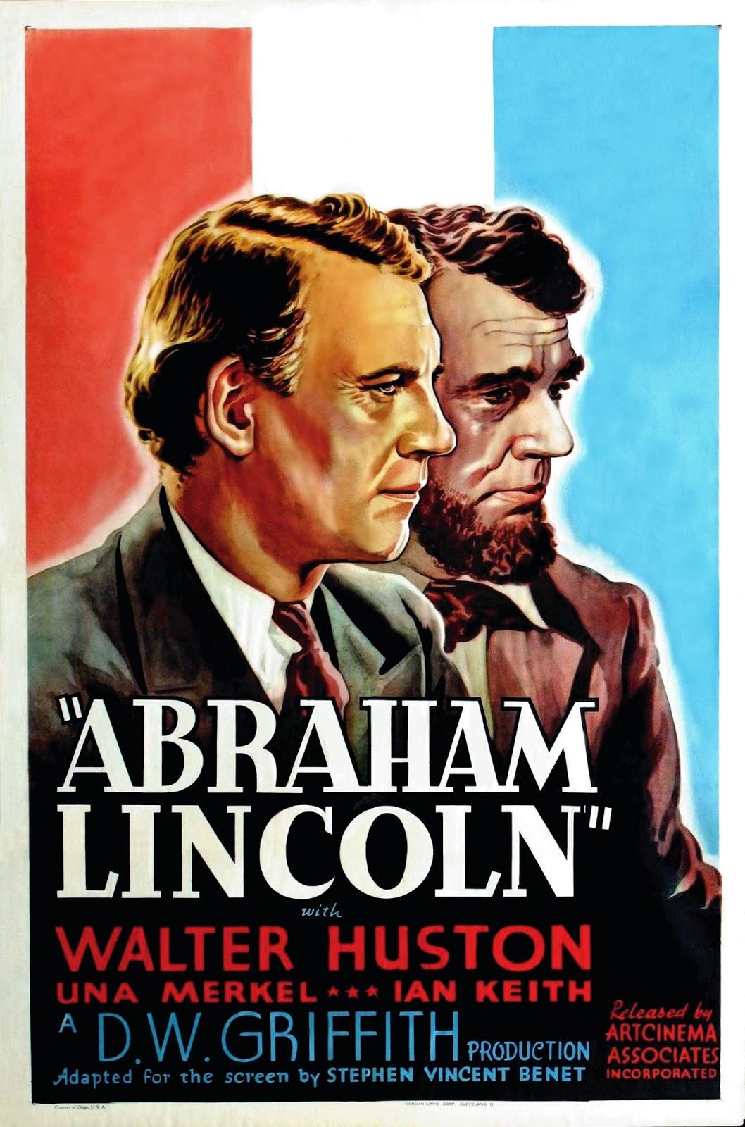 1930 , Abraham Lincoln Carteles