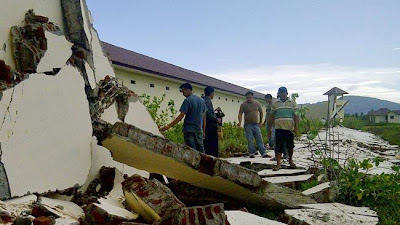 Earthquake and strong aftershock rattled Indonesia's