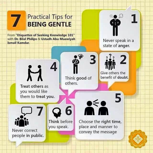 """7 cara menjadi seorang yang """"gentle"""""""