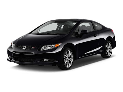 honda civic si coupe 2012 crystal black pearl