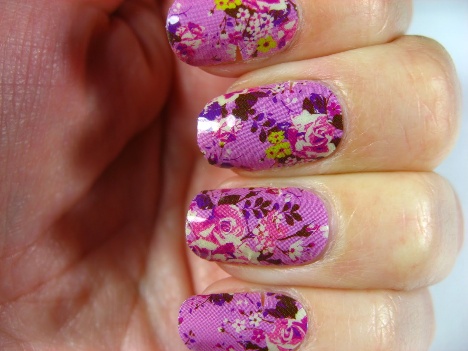Right on the Nail: Right on the Nail ~ Jamberry Orchid Bouquet Nail ...