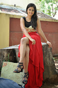 Meghasri glamorous photos in red-thumbnail-12