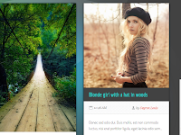 Template Blogger Premium Dream Grid gratis