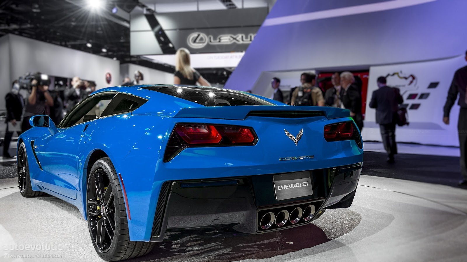 2014 Corvette Blue Cars