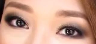 smokey bronze eyes makeup