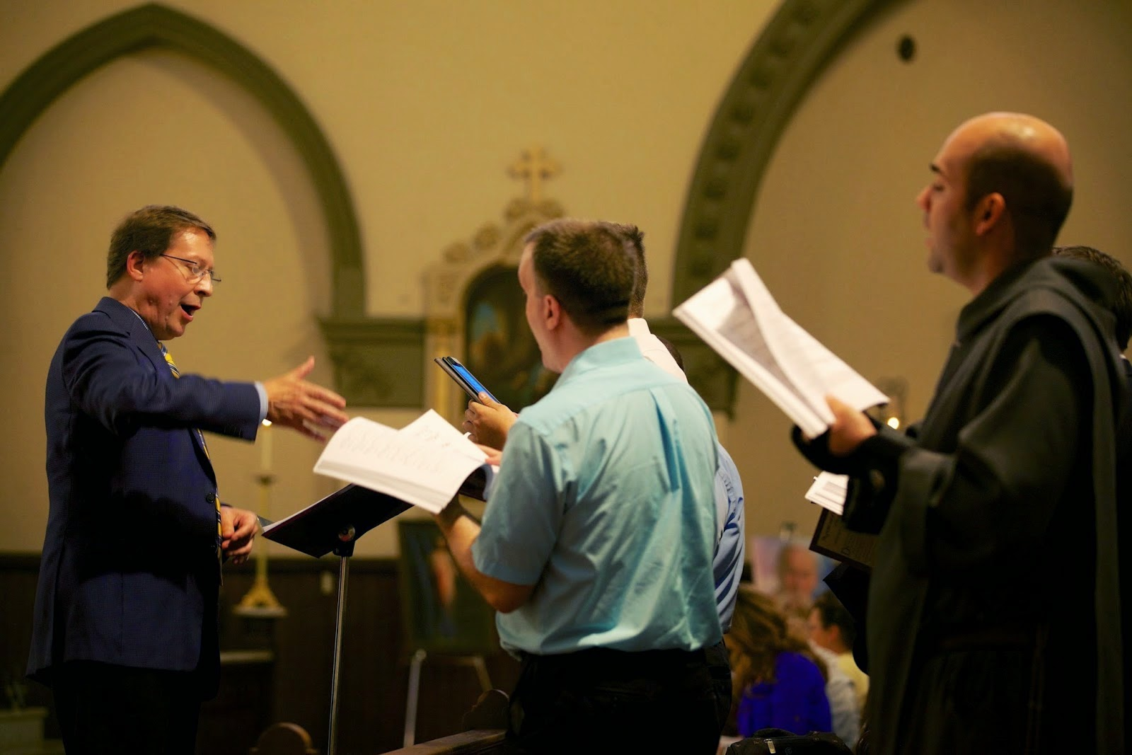 Technology for the Church Singer: Choral Singing from a Tablet