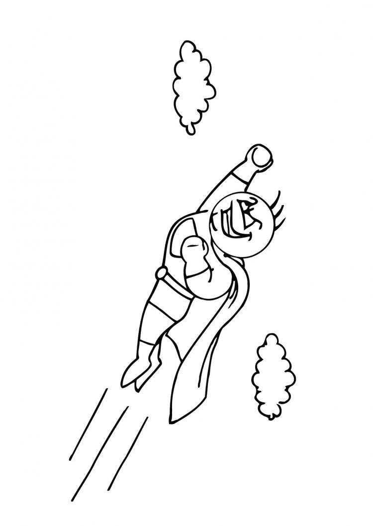 superhero coloring pages games free - photo#16