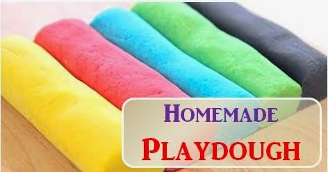 Homemade playdough tanpa bahan kimia