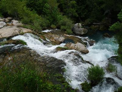 ナヴァセル渓谷 Cirque de Navacelles サン・ギエムの道 ヴィス川