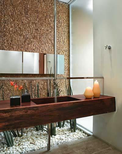 decoracao teto banheiro: de teto – veja banheiros/lavabos lindos com essa tendência + dicas