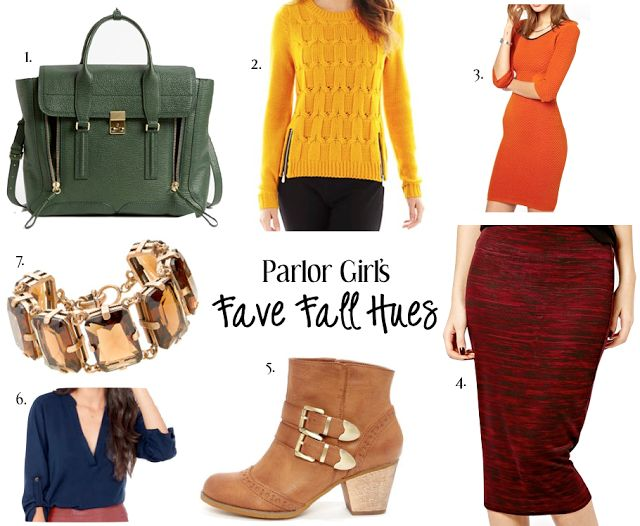 parlor girl fall favorite hues