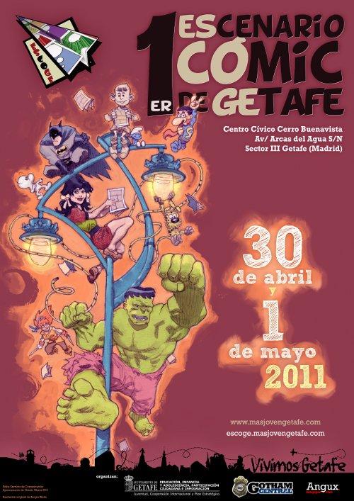 Cartel ESCOGE 2011