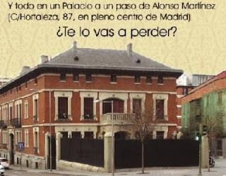 Palacio de Santa Barbara- Madrid