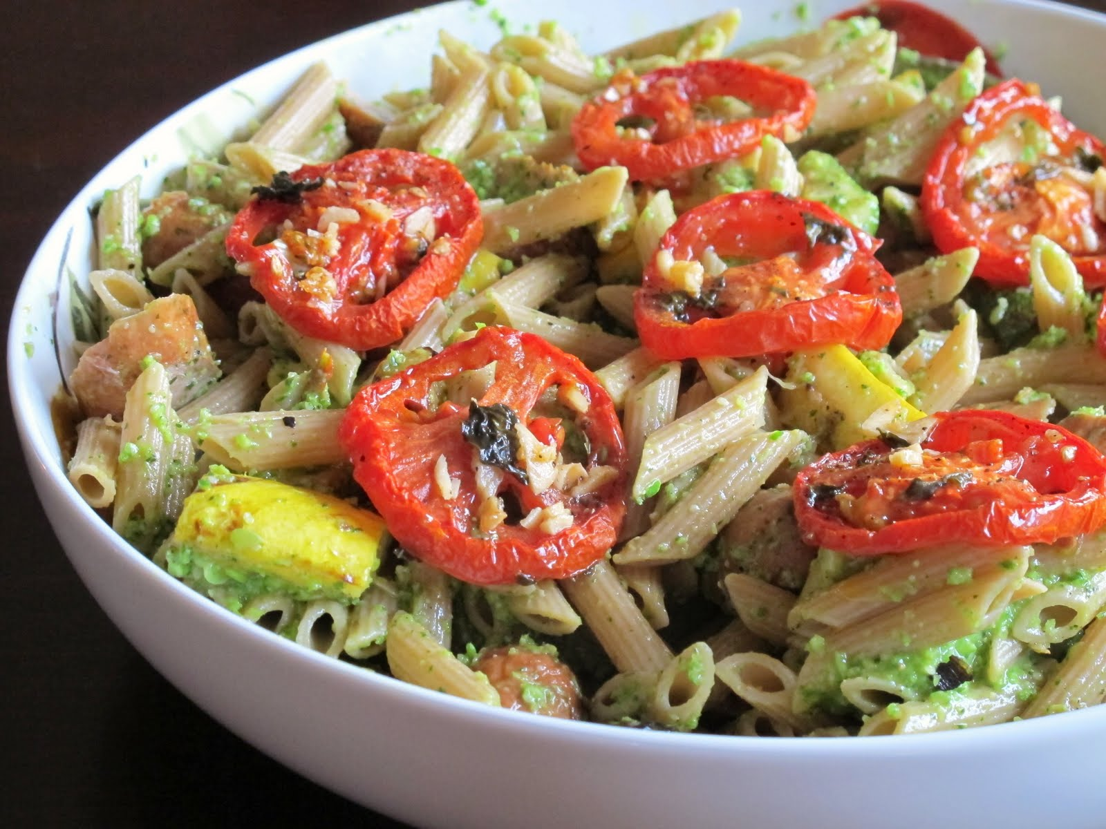 A Toast to Taste: Grilled Veggie Pasta with Slow Roasted ...